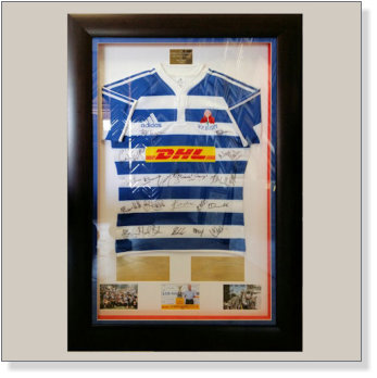 rugby jersey in box frame